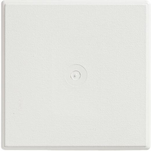 """Ply Gem 6-3/4"""" x 6-3/4"""" White Vinyl Mounting Blocks"""