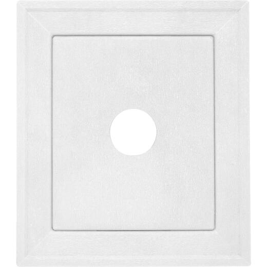 "Ply Gem 8-3/16"" x 8-3/16"" Gray Vinyl Mounting Blocks"