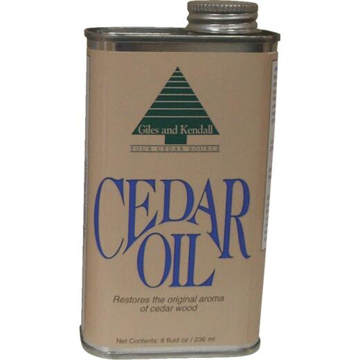 Giles & Kendall 8 Oz. Cedar Oil Wood Finish Restorer