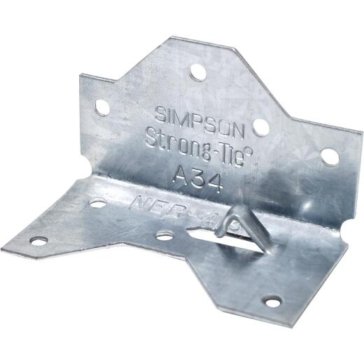 Simpson Strong-Tie Galvanized Steel 18 ga Framing Angle