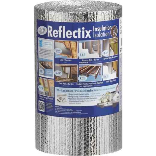 Reflectix 16 In. x 25 Ft. Staple Tab Reflective Insulation