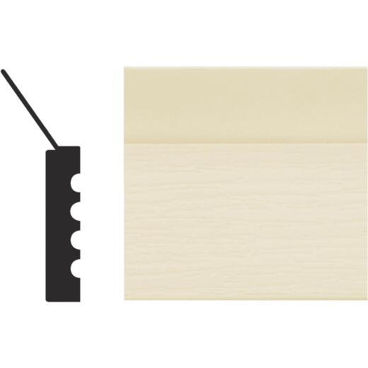 Royal Thermo Stop 2 In. W. x 7/16 In. H. x 7 Ft. L. Almond PVC Weatherstrip Garage Door Stop