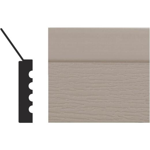 Royal Thermo Stop 2 In. W. x 7/16 In. H. x 9 Ft. L. Sandstone PVC Weatherstrip Garage Door Stop
