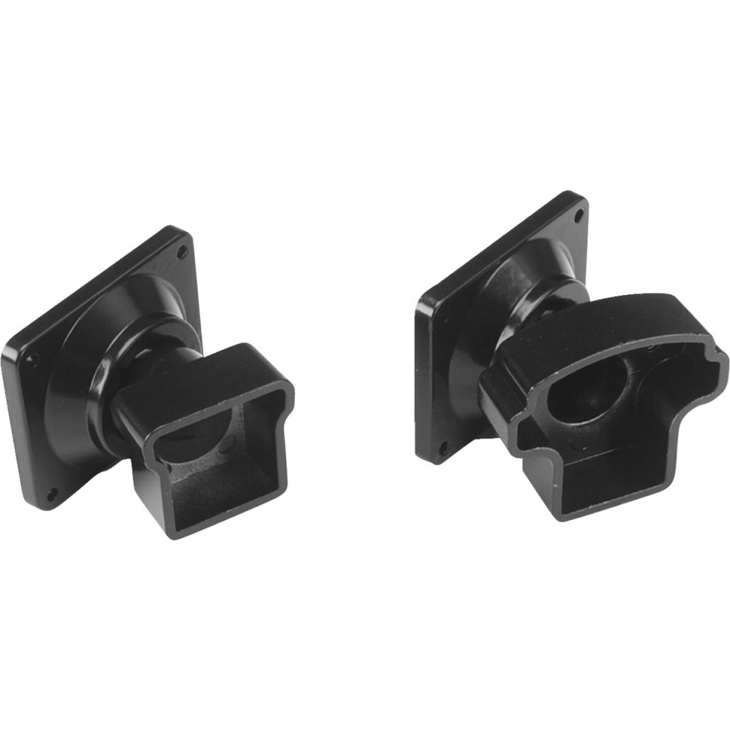 Gilpin Summit Black Powder Coated Aluminum Railing Swivel Fitting (2-Pack) Image 1