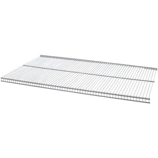 Organized Living FreedomRail 30 In. W. x 12 in. D Profile Ventilated Closet Shelf, Nickel