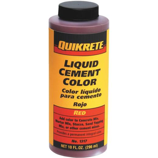 Quikrete Red 10 Oz Liquid Cement Color