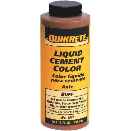 Quikrete Buff 10 Oz Liquid Cement Color