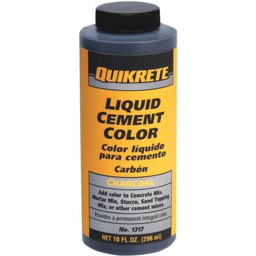 Quikrete Charcoal 10 Oz Liquid Cement Color