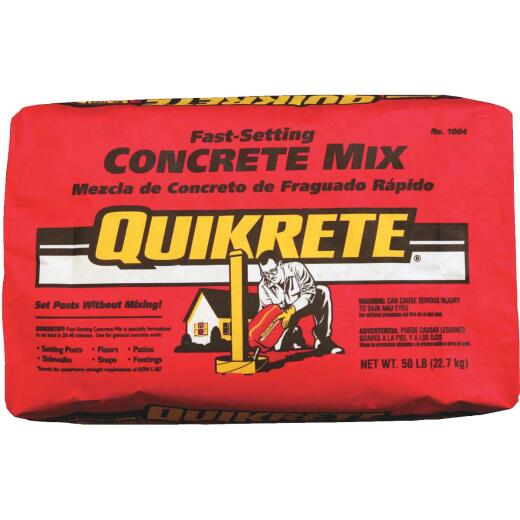 Quikrete Fast-Set 50 Lb Concrete Mix
