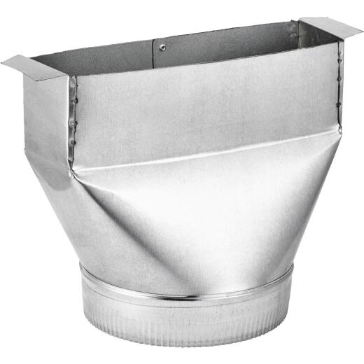 Lambro 6 In. Galvanized Range Hood Round Transition Boot