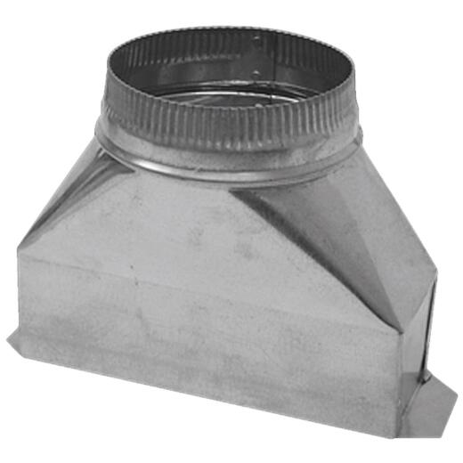 Lambro 7 In. Galvanized Range Hood Round Transition Boot