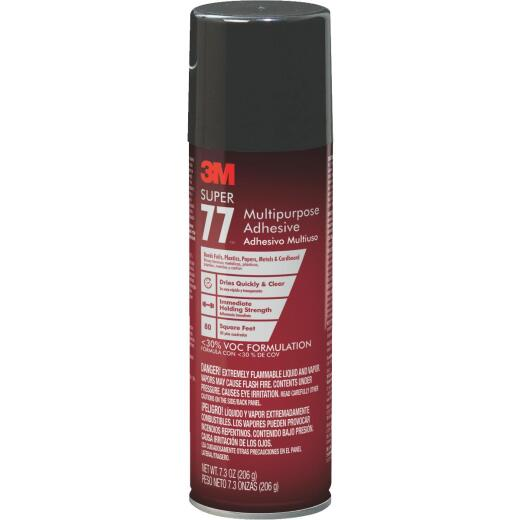 3M Super 77 7.3 Oz. Multipurpose Spray Adhesive (California Compliant)