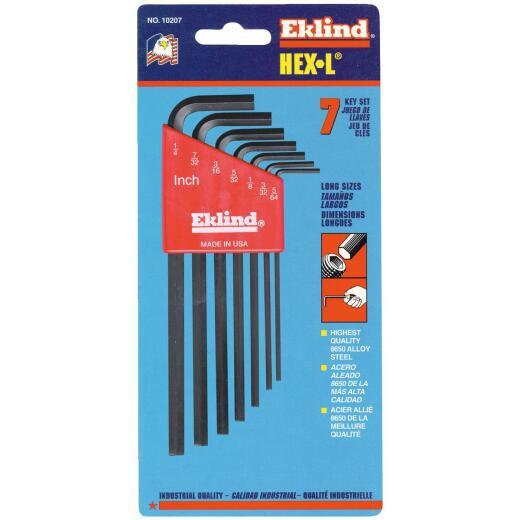 Eklind Long Arm Hex Key Set, 7-Piece