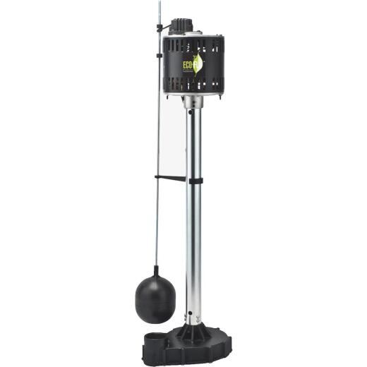 ECO-FLO 1/2-HP Cast Iron Pedestal Sump Pump