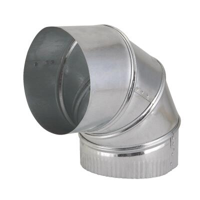 Imperial 30 Ga. 6 In. Galvanized Adjustable Elbow