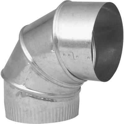 Imperial 26 Ga. 7 In. Galvanized Adjustable Elbow