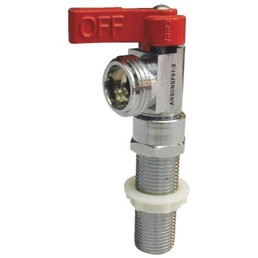 ProLine 1/2 In. Sweat x 3/4 In. HT Outlet Washing Machine Valve