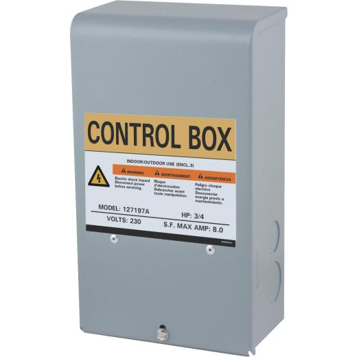 Star Water Systems 3/4 HP 230V Quick Disconnect Pump Control Box