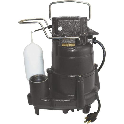 Do it Best 1/2 HP 115V Cast-Iron Submersible Sump Pump