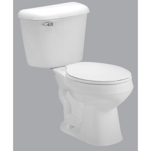 Mansfield Pro-Fit 1 White Round Bowl 1.6 GPF Complete Toilet