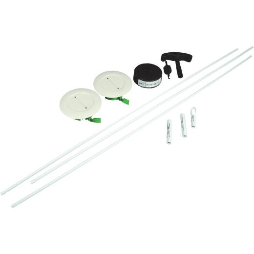 Wiremold 3 In. x 30 In. White Channel