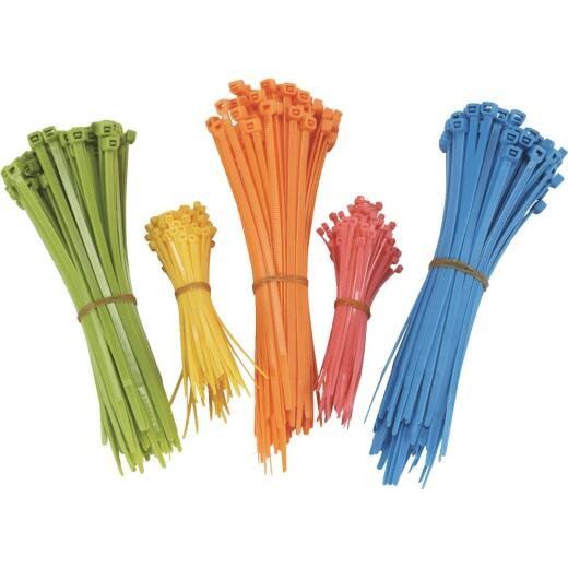 Do it Self-Locking Nylon Cable Tie Assortment (500-Piece)