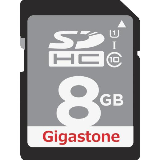 Gigastone Prime Series 8 GB SDHC Card