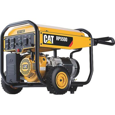 Caterpillar 5500W Gasoline Powered Portable Generator (CARB)