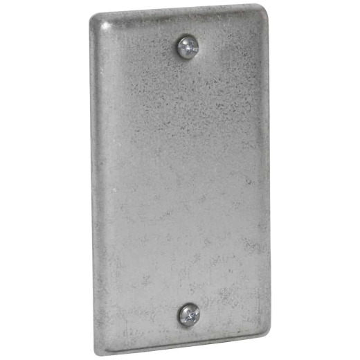 Raco Blank 4 In. x 2-1/8 In. Handy Box Cover