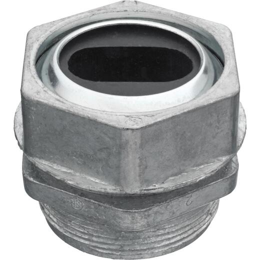 Steel City 1-1/4 In. Watertite U Flat Cast Body Watertite Connector