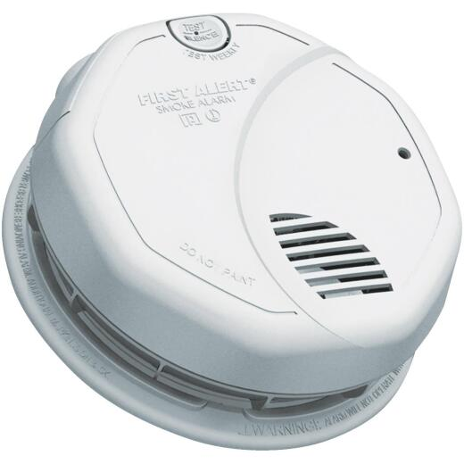 First Alert Hardwired 120V Photoelectric/Ionization Smoke Alarm With Battery Back-Up