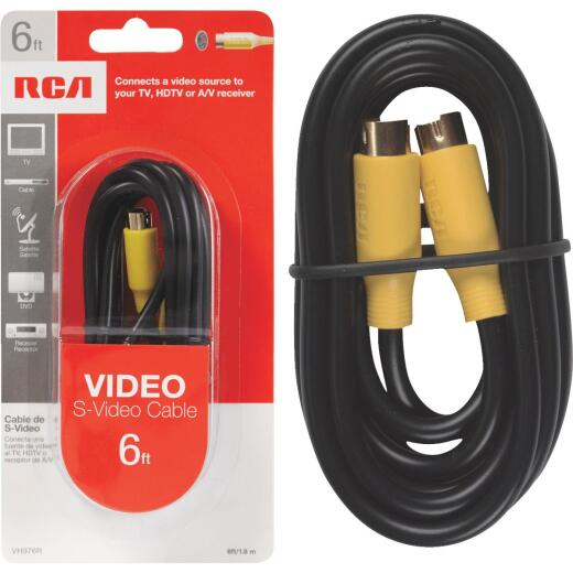 RCA 6 Ft. S-Video Cable