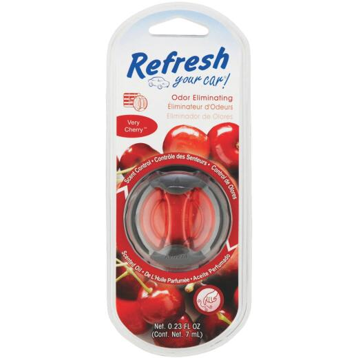 Refresh Your Car Oil Diffuser Car Air Freshener, Very Cherry
