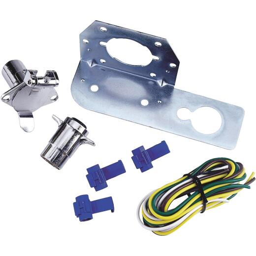 Reese Towpower 4-Round 48 In. Vehicle Side Connector