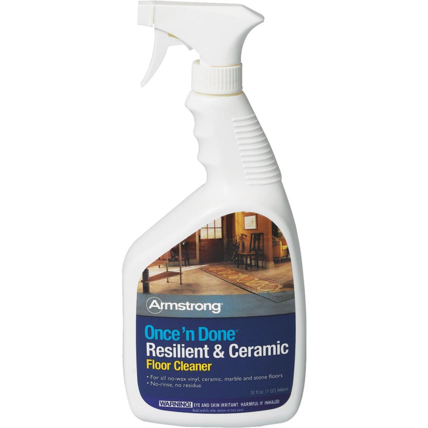 Armstrong Flooring Once 'N Done 32 Oz. Ready-To-Use Resilient & Ceramic Floor Cleaner Spray Image 1