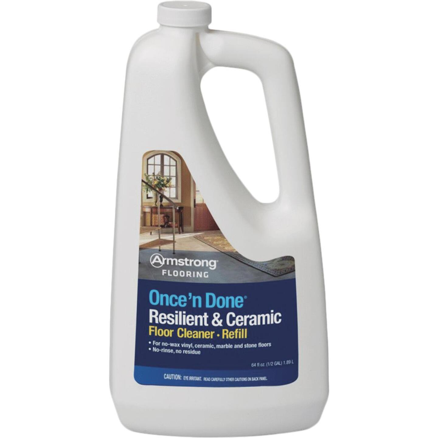 Armstrong Flooring Once 'N Done 1/2 Gal. Ready-To -Use Resilient & Ceramic Floor Cleaner Refill Image 1