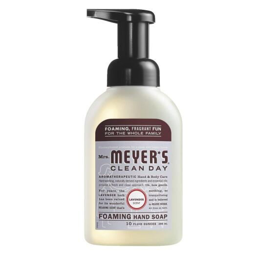 Mrs. Meyer's Clean Day Lavender Foaming Hand Soap