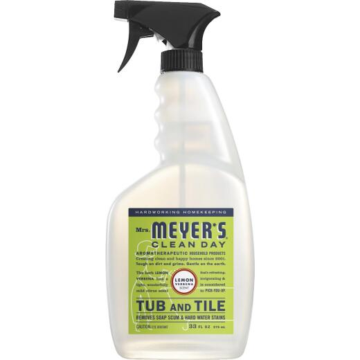 Mrs. Meyer's Clean Day 33 Oz. Lemon Verbena Tub & Tile Bathroom Cleaner