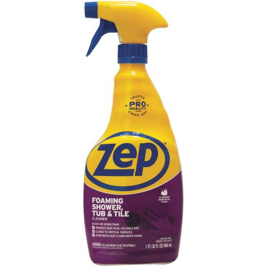 Zep 32 Oz. Foaming Tub & Tile Bathroom Cleaner