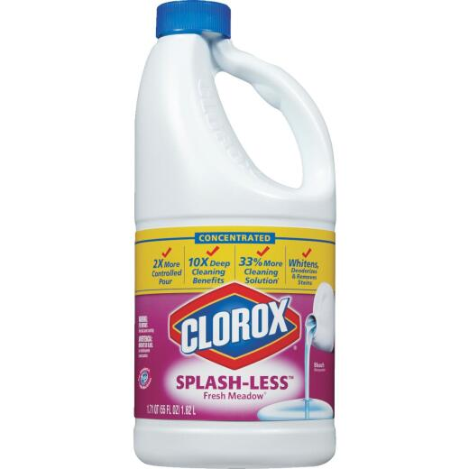 Clorox 55 Oz. Fresh Meadow Concentrated Splash-Less Bleach