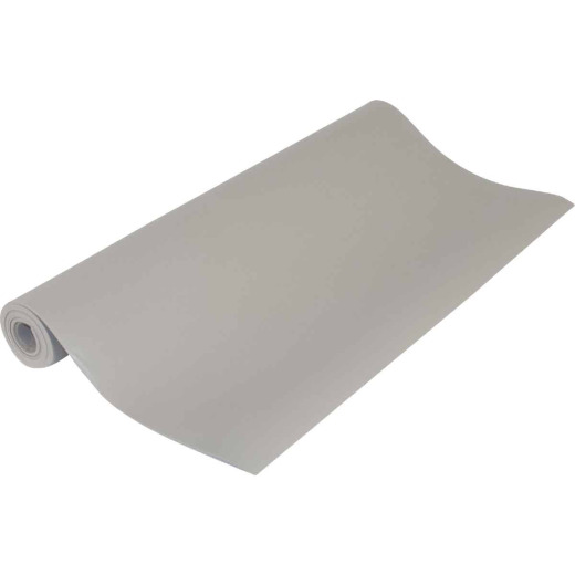 Con-Tact 18 In. x 4 Ft. Taupe Grip Premium Non-Adhesive Shelf Liner