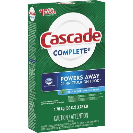 Cascade Complete 60 Oz. Fresh Scent Powder Dishwasher Detergent