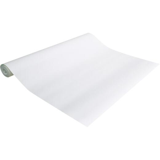 Con-Tact Creative Covering 18 In. x 9 Ft. White Self-Adhesive Shelf Liner