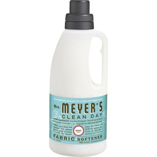 Mrs Meyer's Clean Day 32 Oz. Basil Fabric Softener