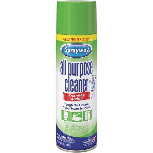 Sprayway 19 Oz. All Purpose Cleaner Disinfecting Spray