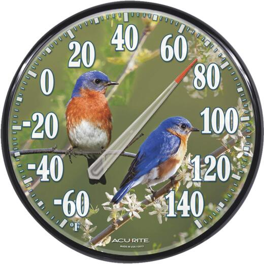 "Acurite 12-1/2"" Fahrenheit -60 To 140 Outdoor Wall Thermometer"