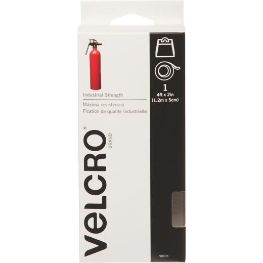 VELCRO Brand 2 In. x 4 Ft. White Industrial Strength Hook & Loop Roll