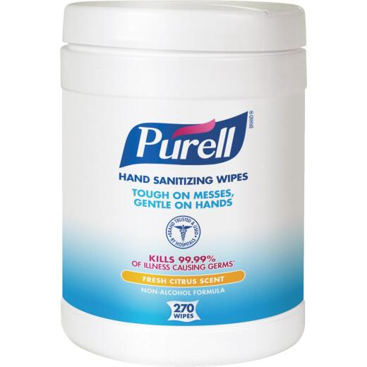 Purell Citrus Hand Sanitizer Wipes, (270 Ct.)