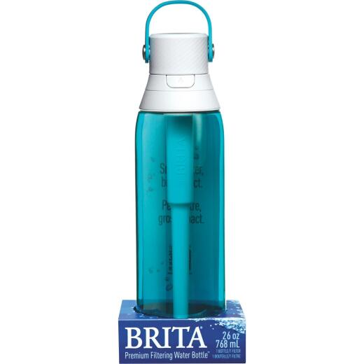Brita 26 Oz. Sea Glass Premium Hard Sided Water Bottle