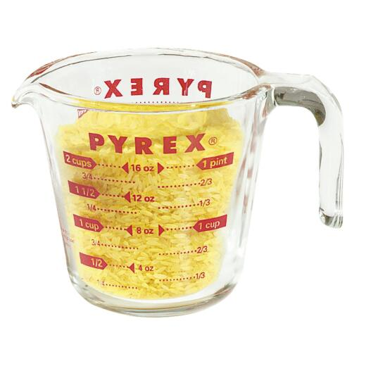 Pyrex Prepware 2 Cup Clear Glass Measuring Cup